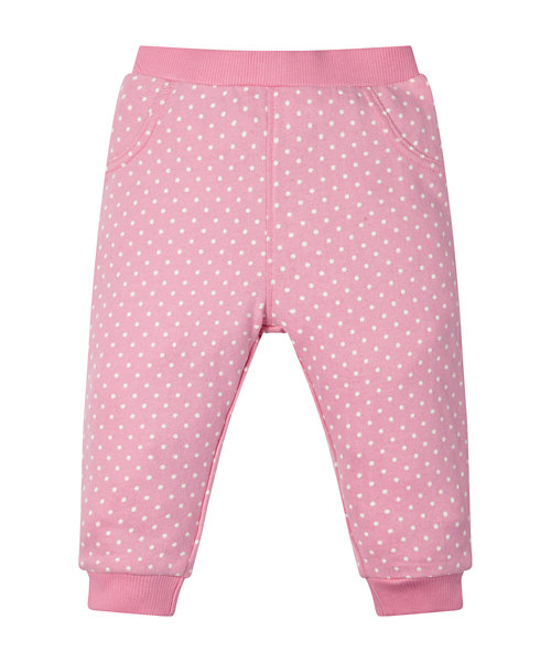 Pink Spotty Joggers
