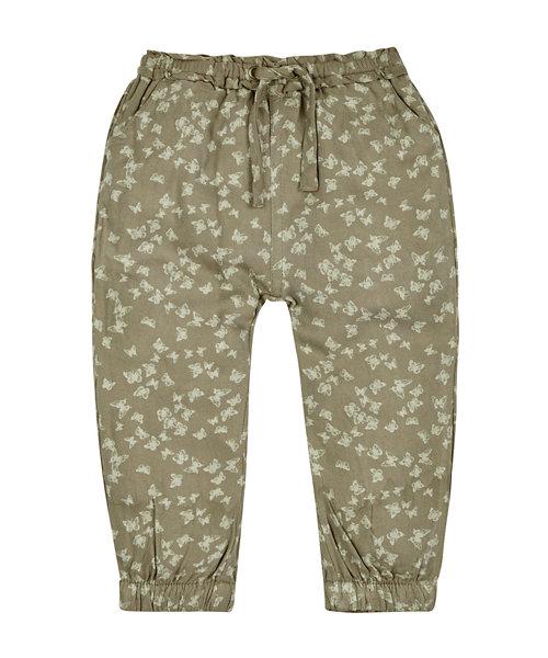 Harem Khaki Trousers