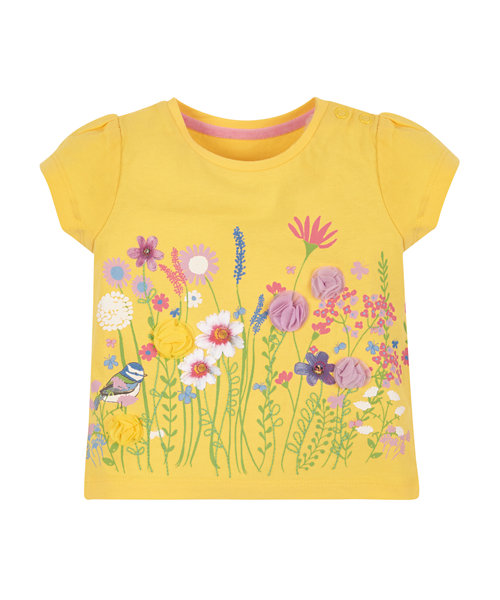 Yellow Floral T-Shirt