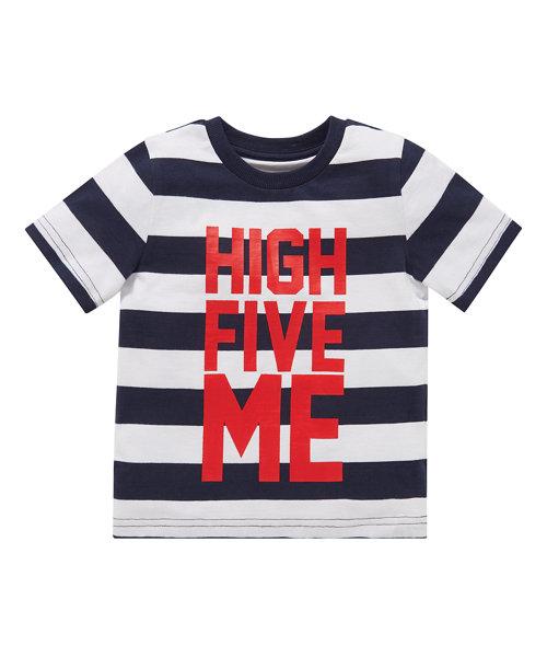 High Five Stripe T-Shirt