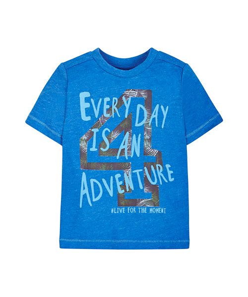 Every Day is an Adventure Slogan T-Shirt