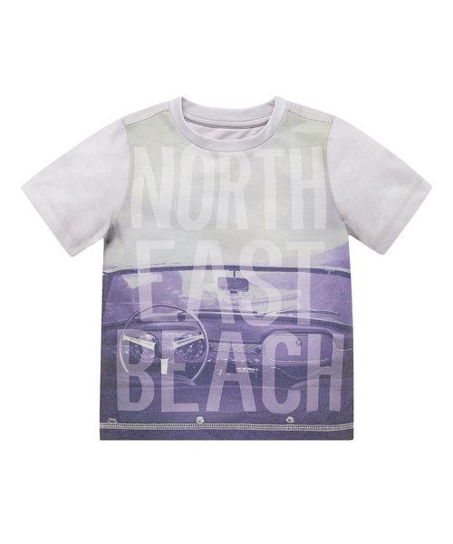 North East Beach Photographic T-Shirt
