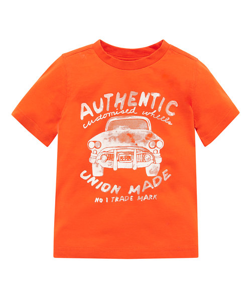 Orange Cool Car T-Shirt