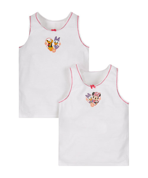 Disney Minnie Mouse Vests - 2 Pack