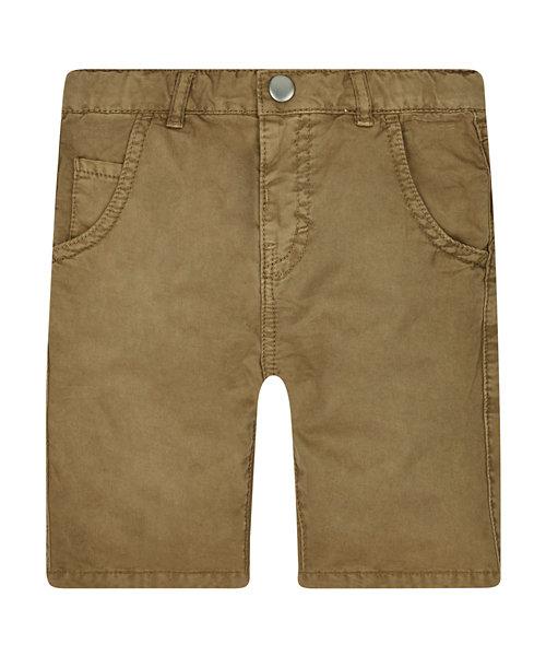 Tan Twill Shorts