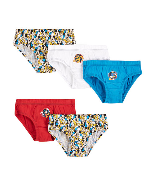 Mickey And Daffy Briefs - 5 Pack