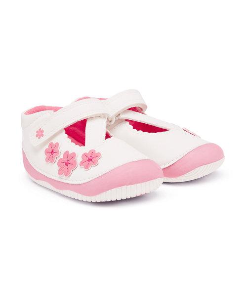 First Walker Flower Crawler Shoes