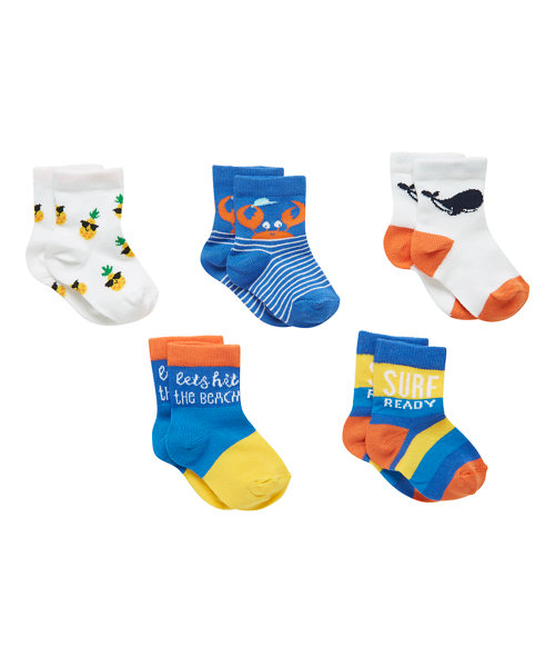 Florida Socks Print - 5 Pack