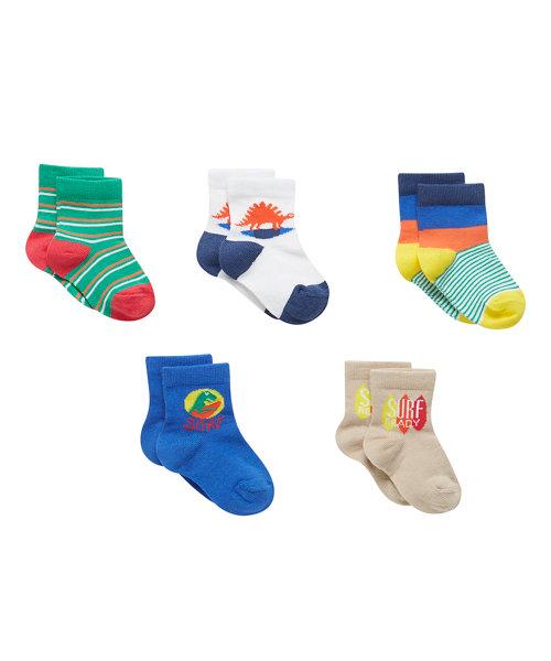 Tulum Socks Print - 5 Pack