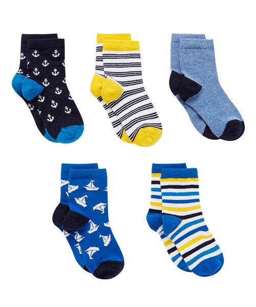 Florida Socks Stripe - 5 pack