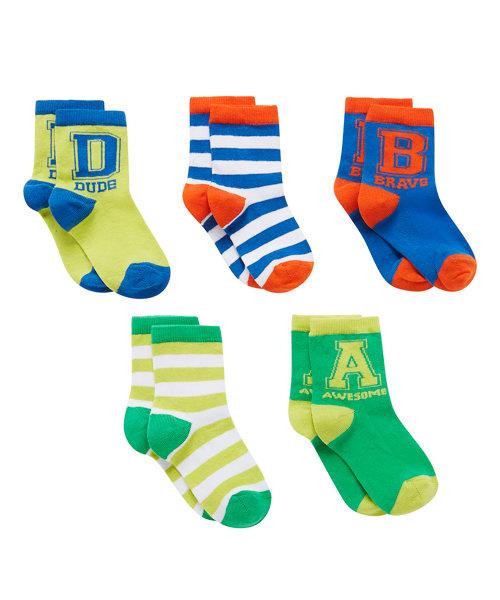 Rio Socks Stripe - 5 Pack