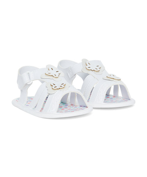 Mix Material Butterfly Sandal