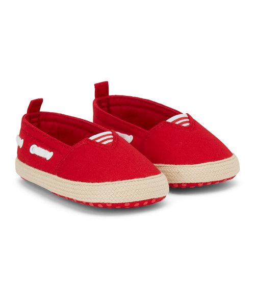 Red Boat Shoe Espadrille
