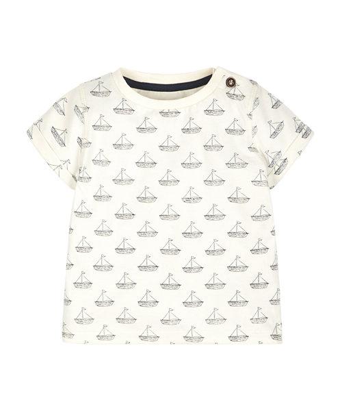 Boat Print T-Shirt