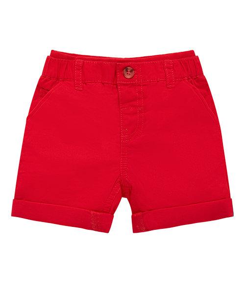 Red Chino Short