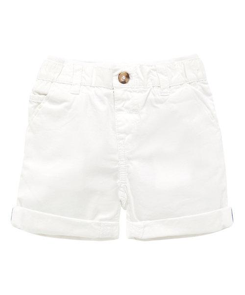 White Chino Short