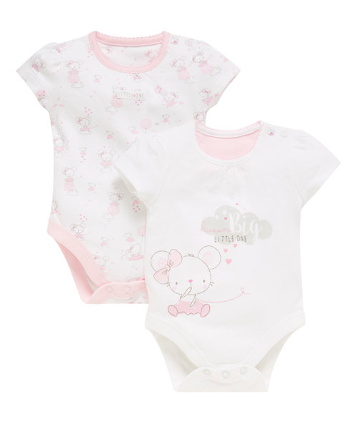 Mouse Bodysuits - 2 Pack