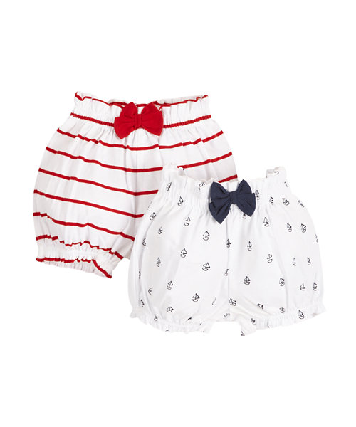 Nautical Bloomers - 2 Pack