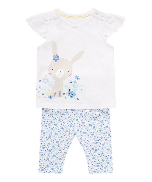 Bunny Dress and Leggings Set