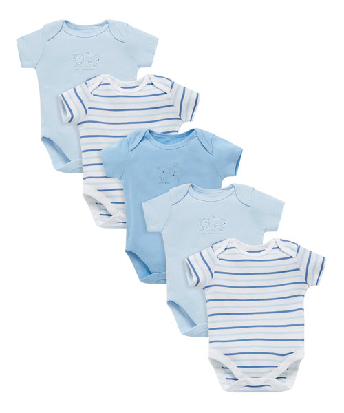 Little Bear Bodysuit - 5 Pack (Size Newborn)