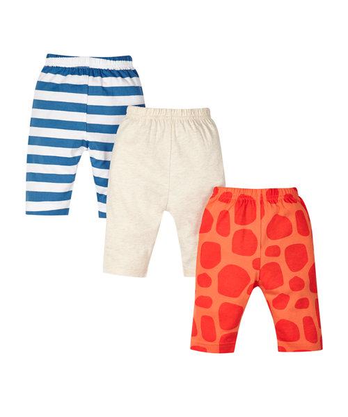 Giraffe Leggings - 3 Pack