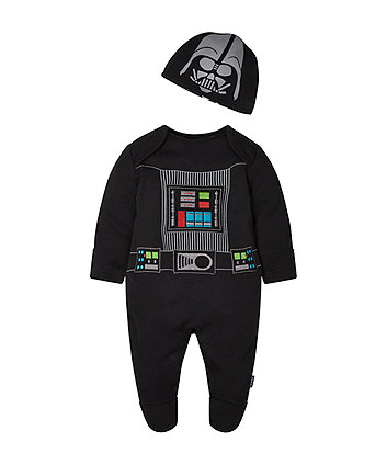 Mothercare Star Wars Darth Vader All In One With Hat