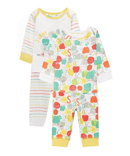 Happy Bugs Hanging Pyjamas - 2 Pack