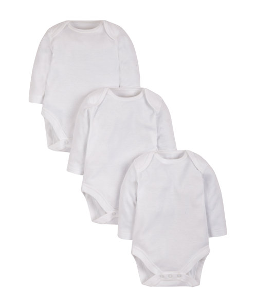 DreamSkin Bodysuits for Sensitive Skin - 3 Pack