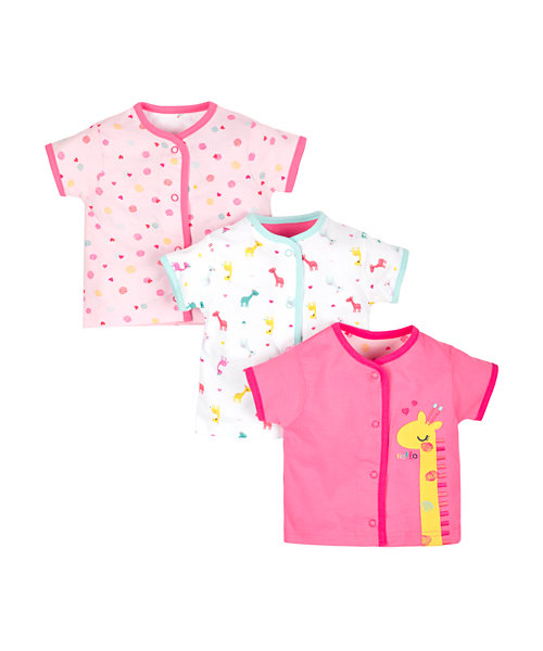 Giraffe Tops - 3 Pack
