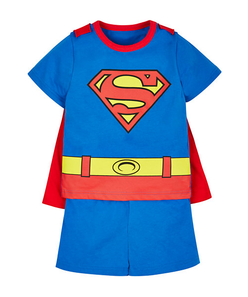 Superman Pyjamas with Cape