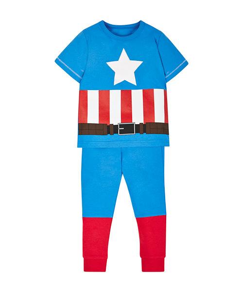 Captain America Dress Up Pyjamas