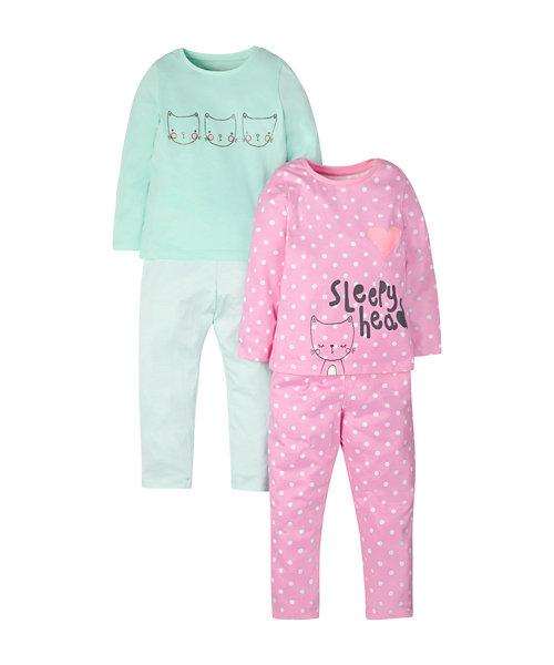 Sleepyhead Pyjamas - 2 Pack