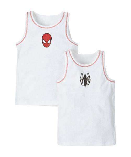 Spiderman Vests - 2 Pack