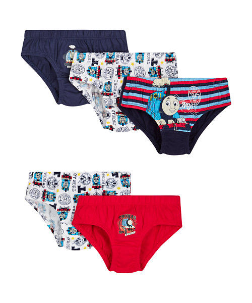 Thomas and Friends Briefs - 5 Pack