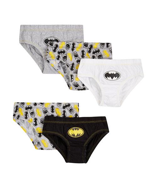 DC Batman Briefs - 5 Pack
