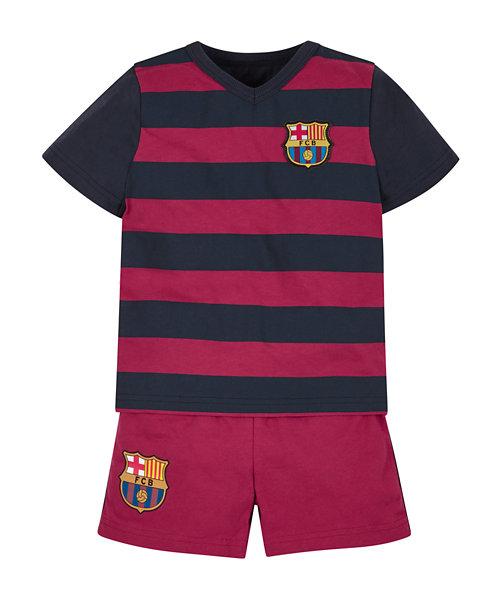 Barcelona Shortie Pyjamas