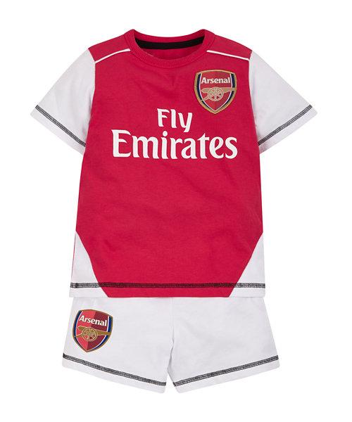 Arsenal Shortie Pyjamas