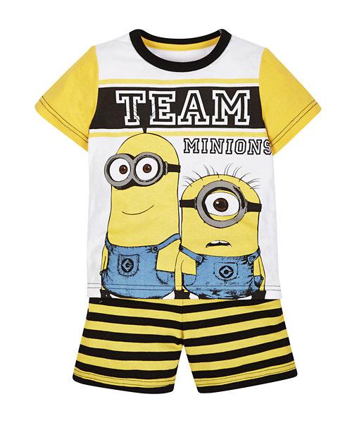 Minions Shortie Pyjamas