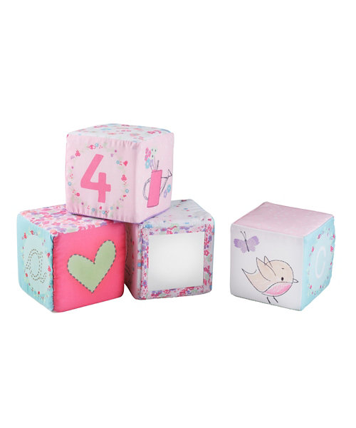 Mothercare My Little Garden Soft Cubes