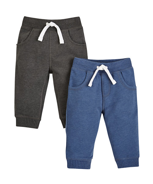 Dark Grey and Blue Joggers - 2 Pack