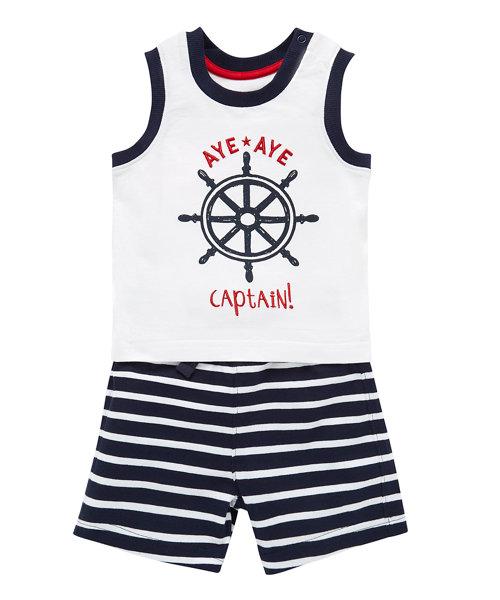 Vest and Short Sailor Set