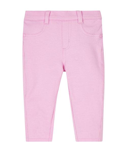 Pink Loopback Jeggings
