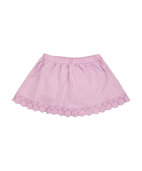 Pink Jersey Skirt