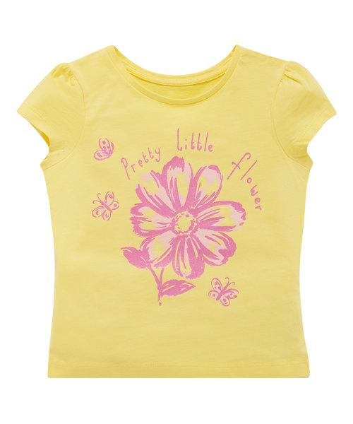 Flower T-Shirt (Lemon)