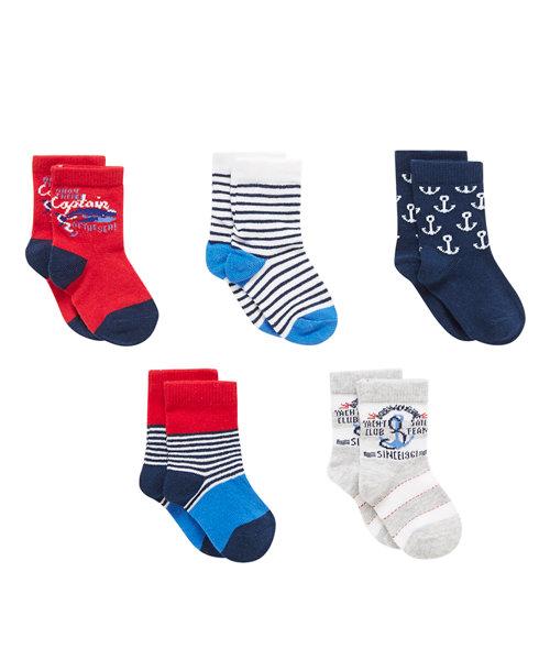 Monte Carlo Sock - 5 Pack
