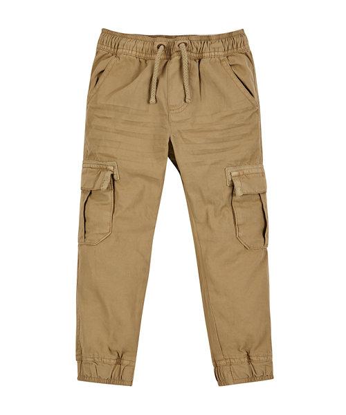Stone Cuffed Trousers
