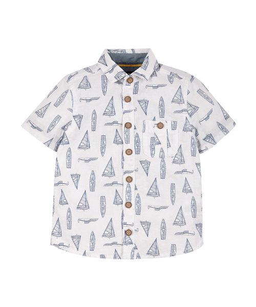 Boat Print Shirt