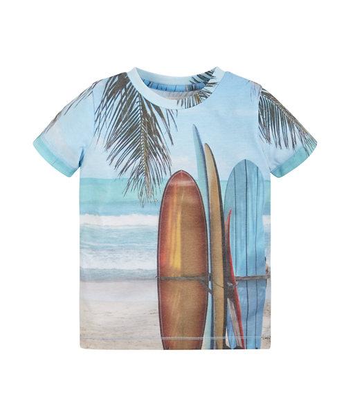 Beach Sublimation Print T-Shirt