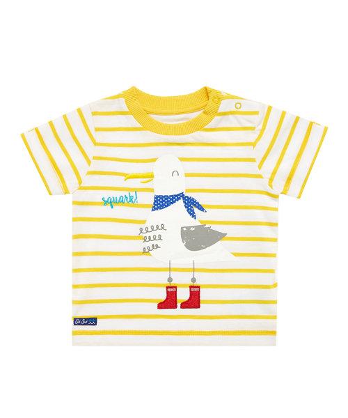 Stripy Seagull T-Shirt