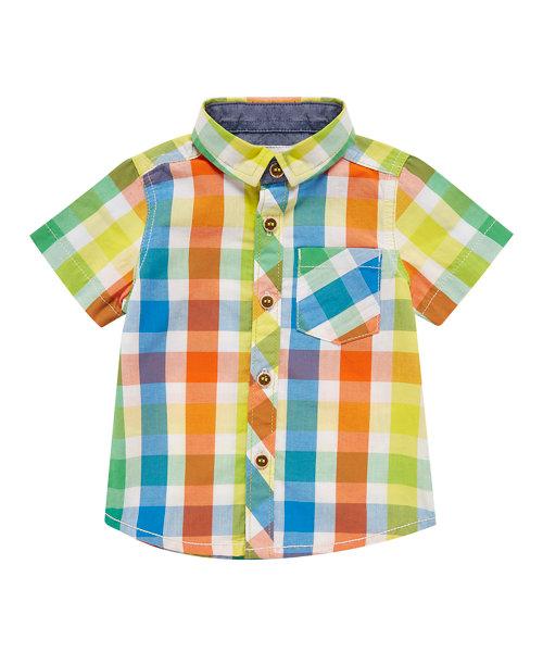 Colourful Check Shirt